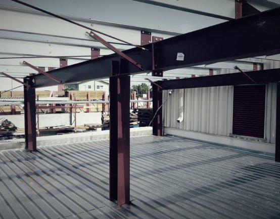 steel building expansion nassau