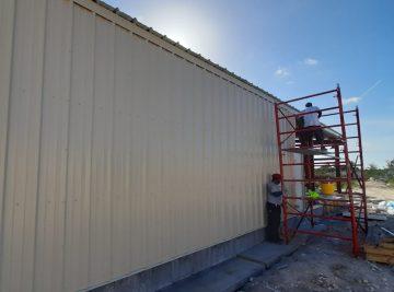 Normans Cay Exuma Metal Building