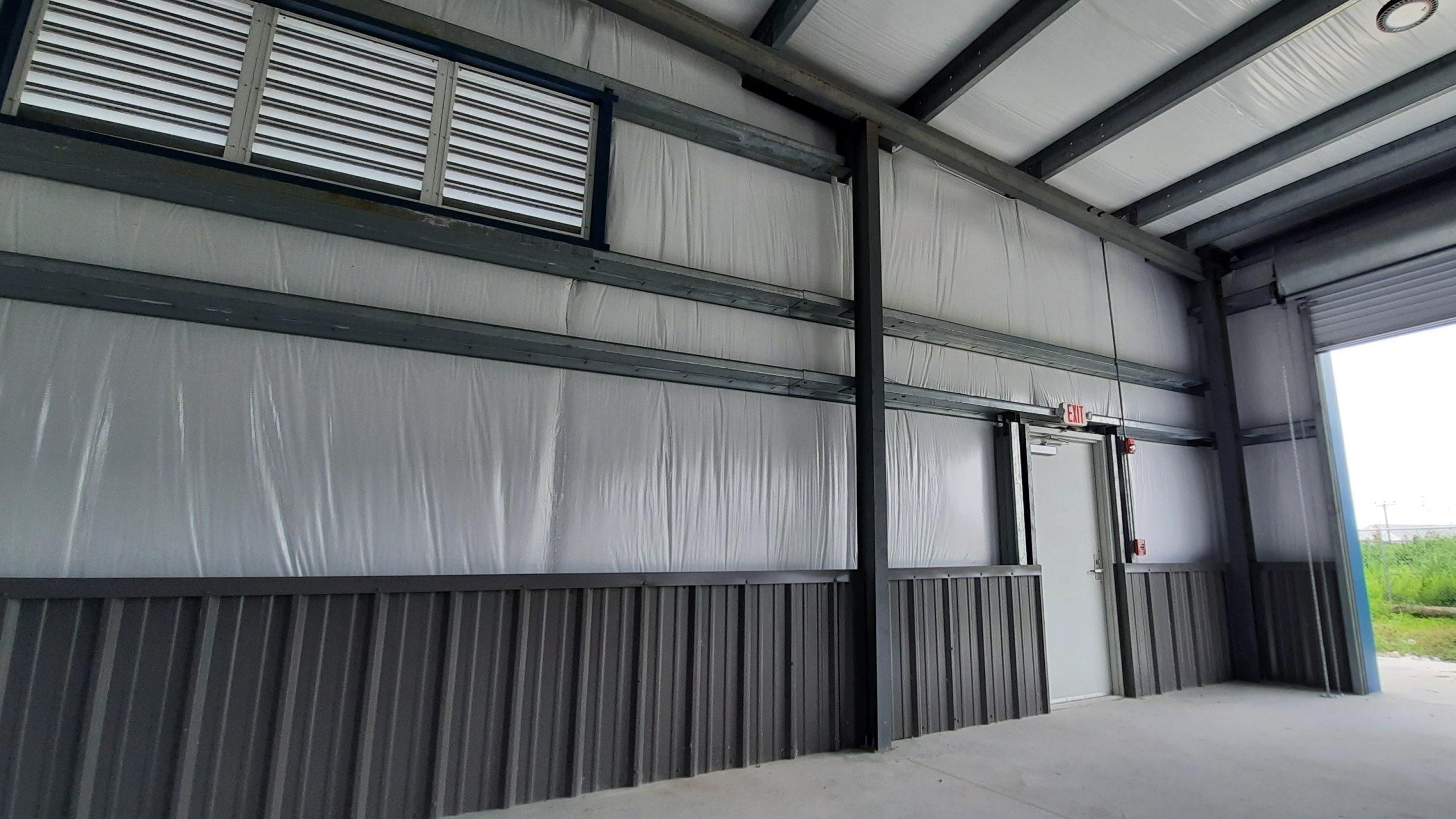 PEMB overhang canopy